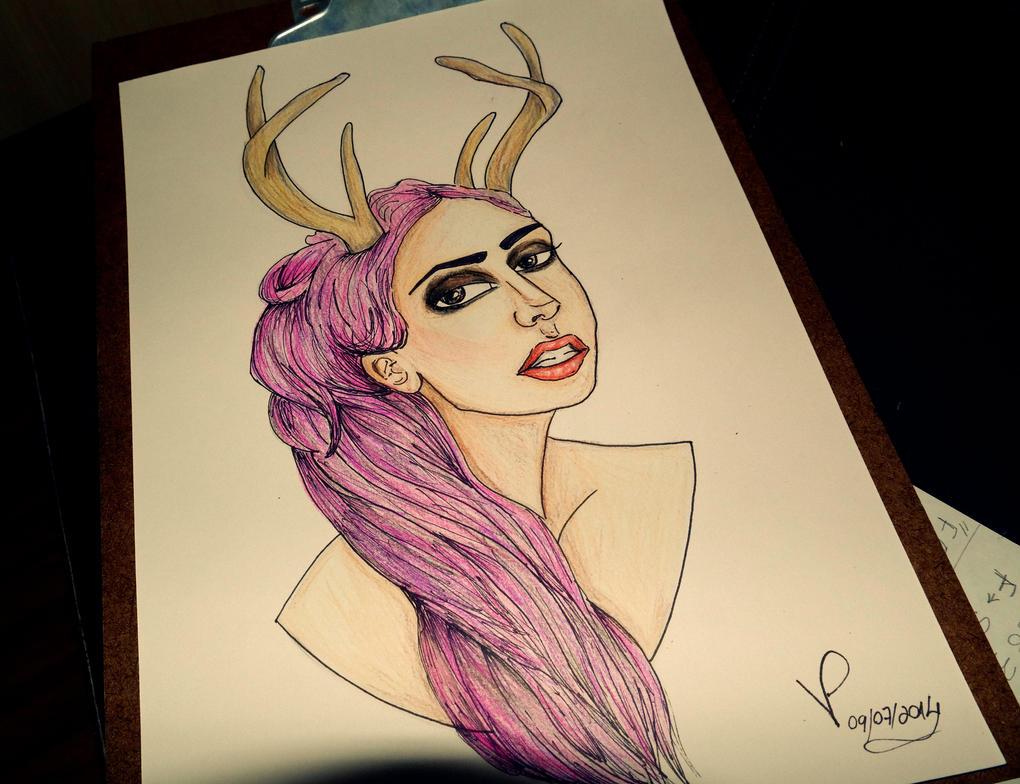 Gaga by VictoriaPaola