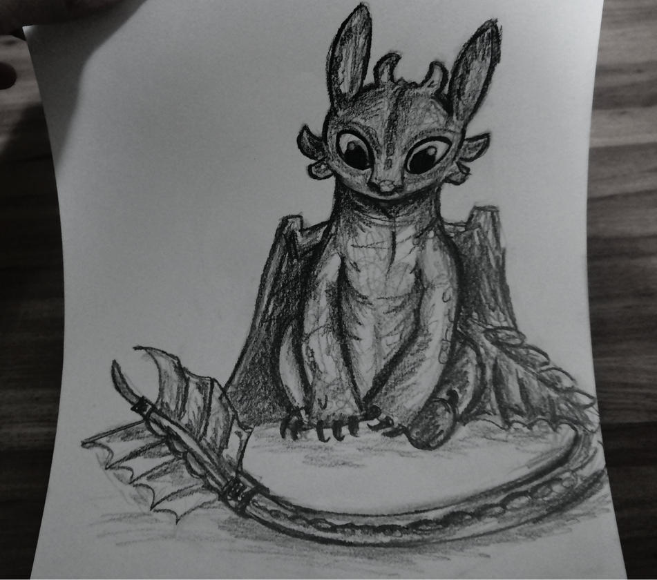 Toothless by VictoriaPaola