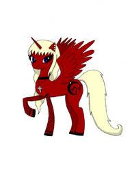 Luna Robotnik Ponyfied!!! by cloclop
