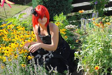 ..flower girl... by Tschimbo