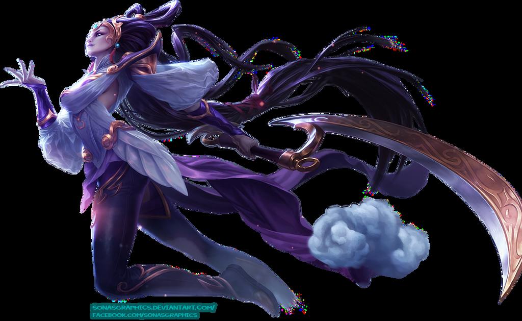 renders League Of Legend  Lunar_goddess_diana_render_by_sonasgraphics-d71pzs6