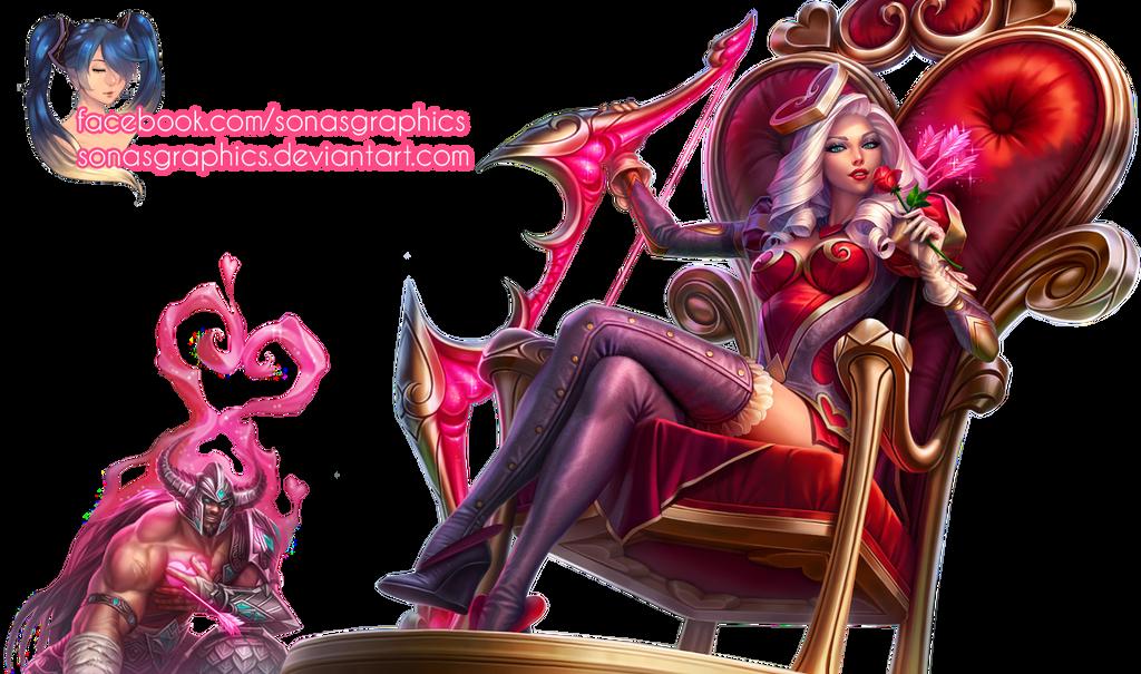 renders League Of Legend  Heartseeker_ashe_render_by_sonasgraphics-d758eut