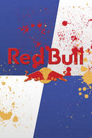 Red Bull RetinaiPhone Painted by nellym2011