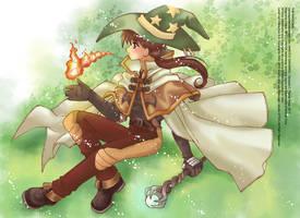 Ragnarok Online: The Magician by Sakuragichan