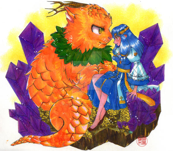 [Ragnarok Online] Doram Dragon by Sakuragichan