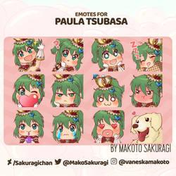 [Ragnarok] Emotes Pack for Tsubasa Games