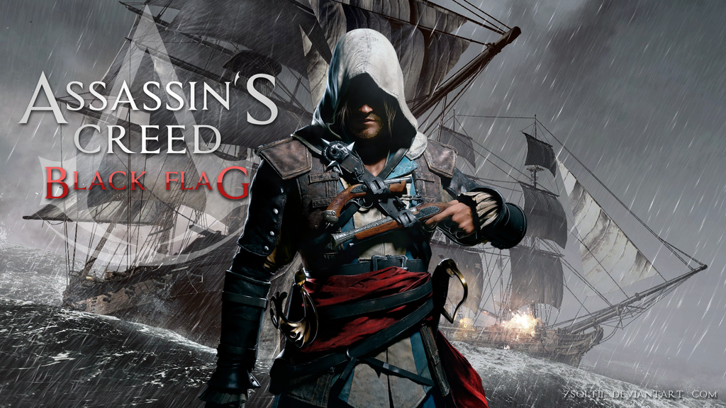 Download The Assassin S Creed Iv Black Flag Wallpapers: Assassin's Creed 4 Black Flag Wallpaper By Zsoltii On