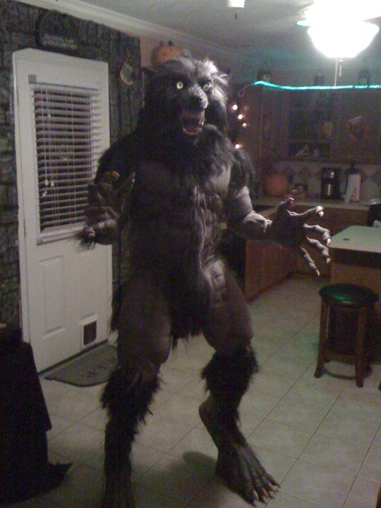 Scary werewolf costume werewolf costume 2010 3 by