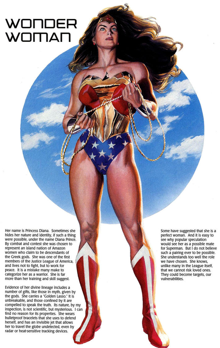 wonder woman by razr310