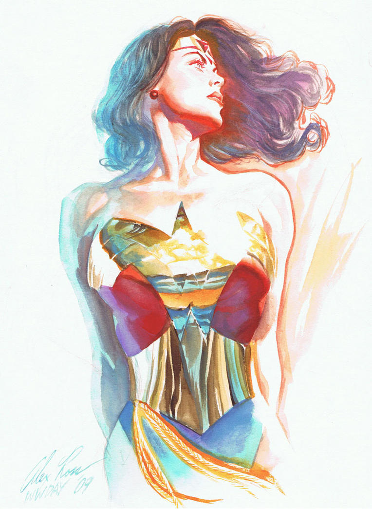 wonder woman by alex ross by razr310
