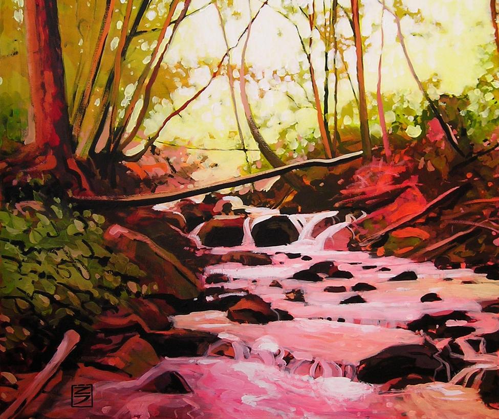 Stream of life by JURIJ-ZITEK