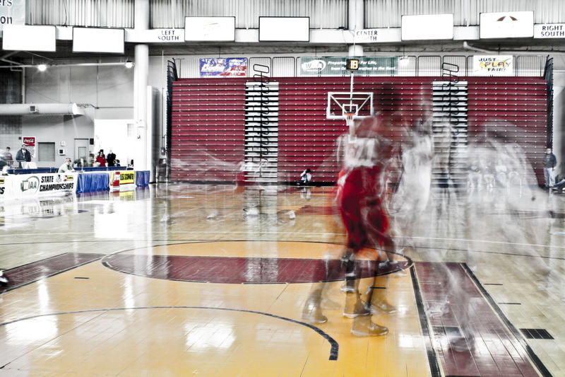 Ghost Basketball by adamward
