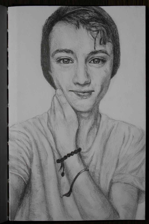 A Sketch of Troye Sivan by lulupapercranes on DeviantArt
