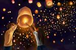 Wish Upon a Sky Lantern
