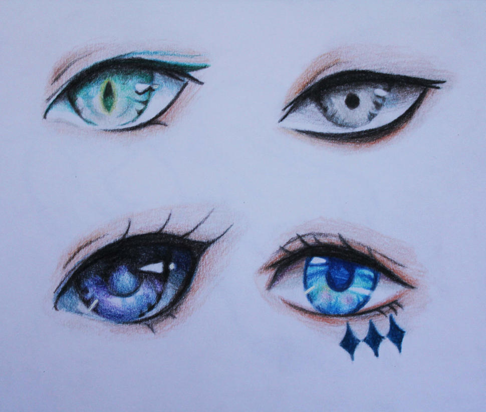 Cool Toned Eyes By Lulupapercranes On DeviantArt