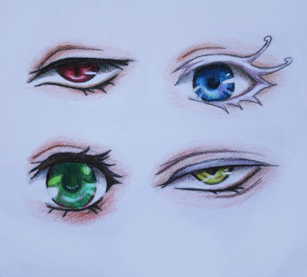 Black Butler Eyes By Lulupapercranes On Deviantart