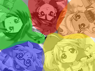 The true colors of Bakugan  by mannrexy