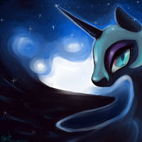I Am The Night by FantaPrime