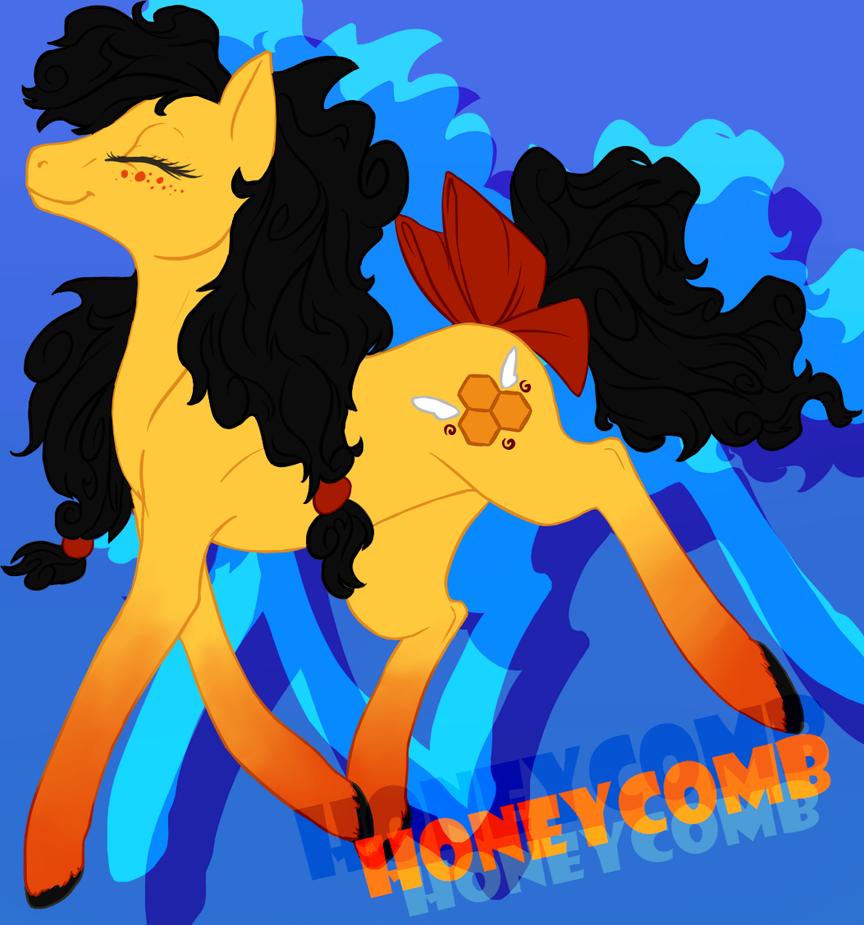 Honeycomb Strut by FantaPrime