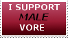 Male vore stamp by MenEatGirls