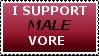 Male vore stamp by MenEatGirls