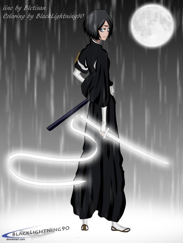 - Kuchiki Rukia  - by BlackLightning90