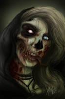 Zombie Girl by RedEyedDemon