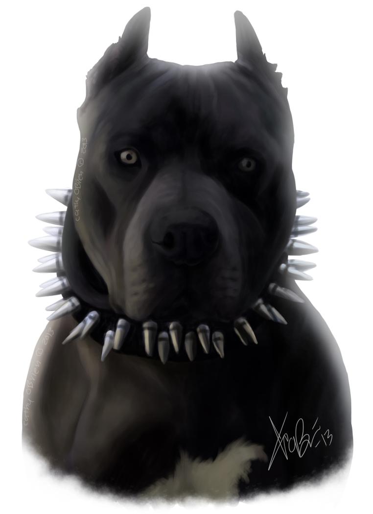 Black Ewyed Dog