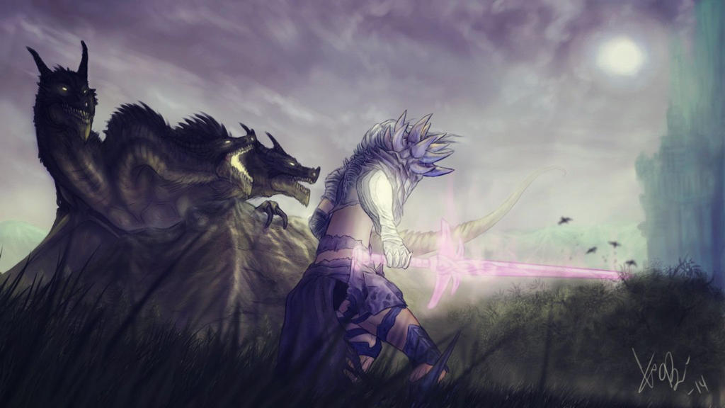 Guild Wars 2 Fanart by RedEyedDemon