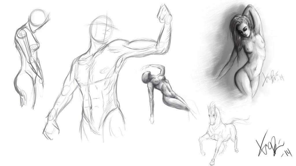 Drawing Day by RedEyedDemon