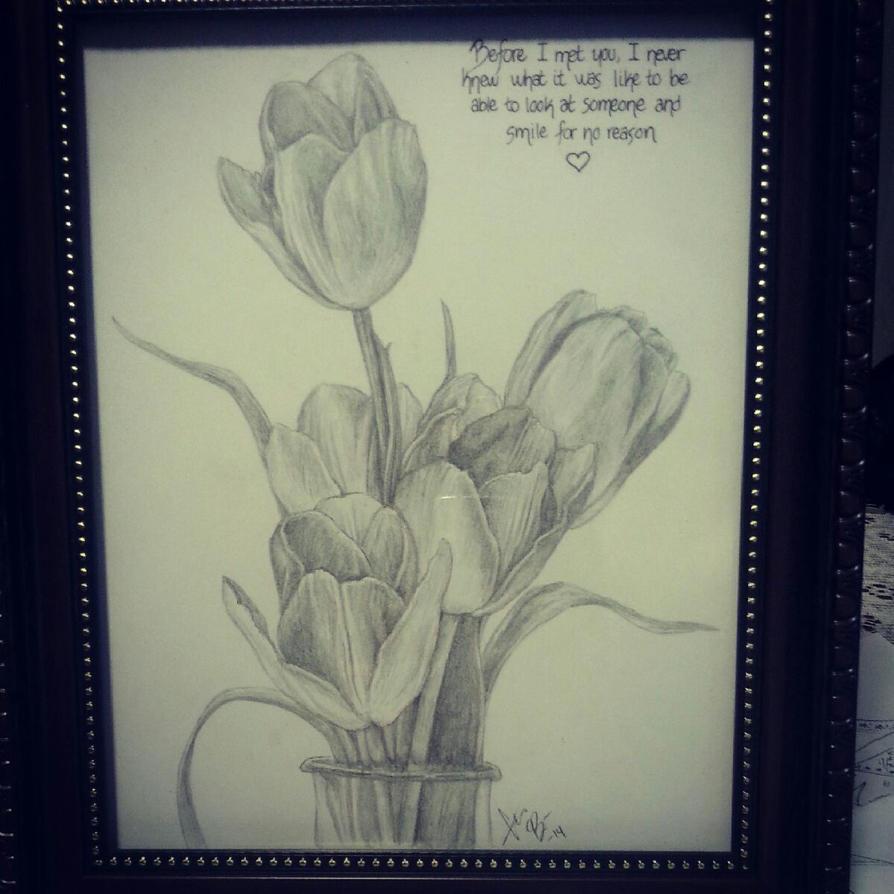 Tulips by RedEyedDemon