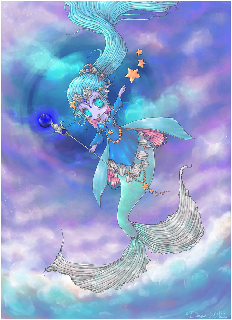 Neptune by DawnWarrior
