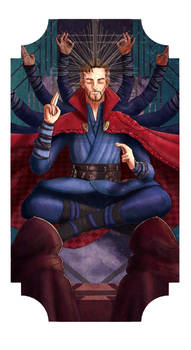05 The Hierophant - Doctor Strange