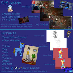 Commissions sheet with now ''more''