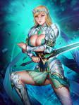 The great warrior, Ivana