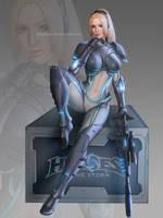 Nova (Heroes of the storm) by Moonarc