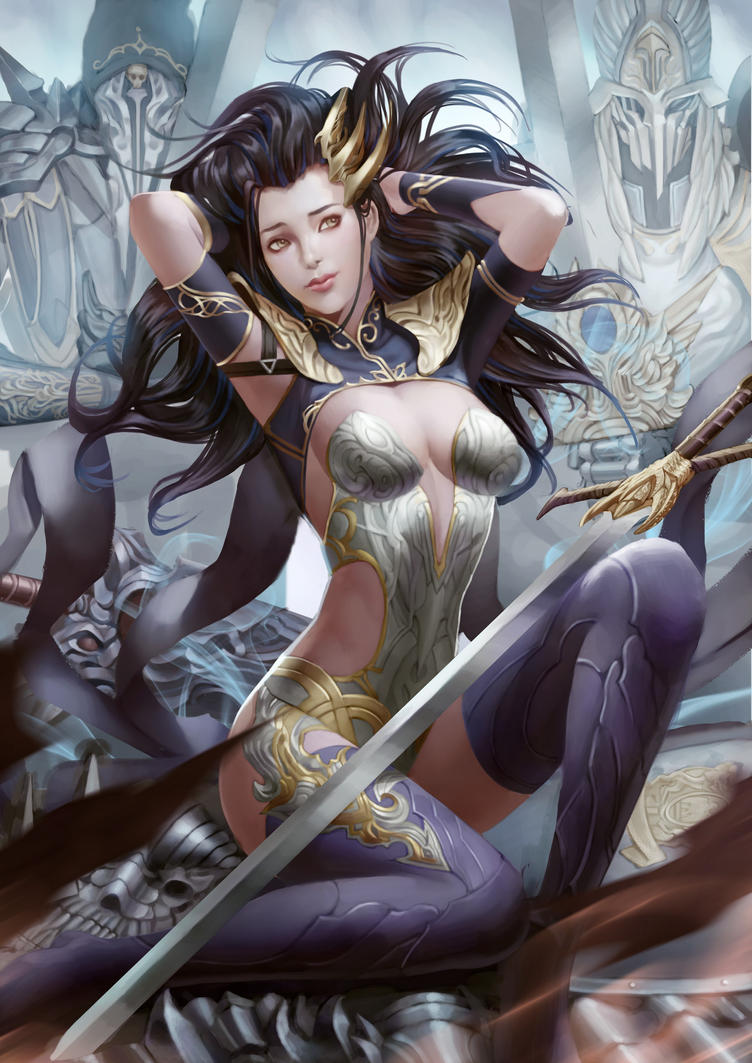 Sword Queen by Moonarc