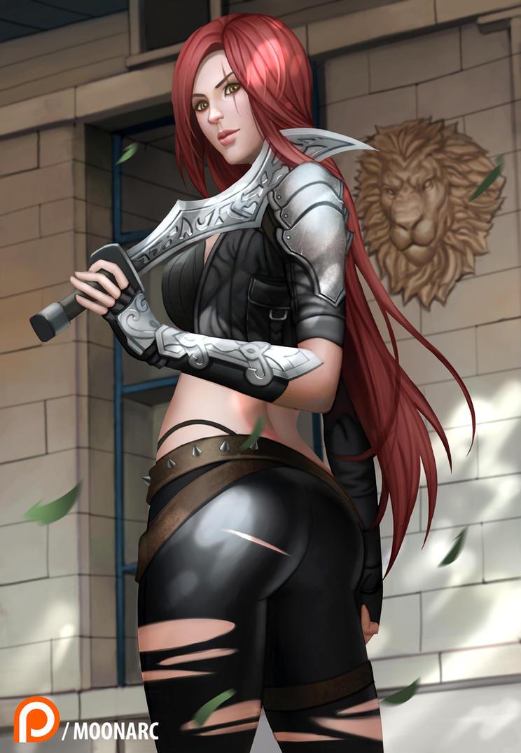 Katarina League of Legends by Moonarc