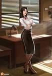 Anna Dewitt Bioshock