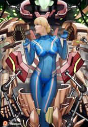 Samus Aran Armory by Moonarc
