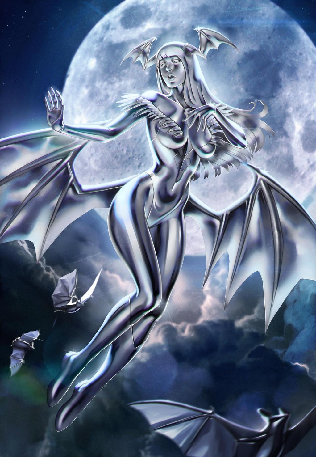 Herald Silver Morrigan by Moonarc