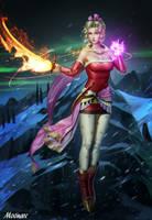 Terra Branford - Final Fantasy VI by Moonarc