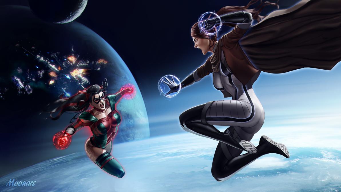 Stellaris vs Victorina by Moonarc