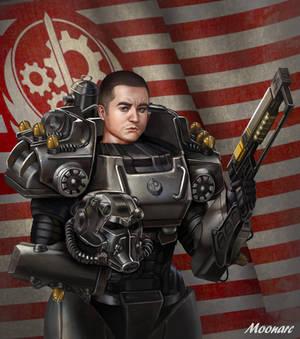T60 Portrait Fallout Power Armor