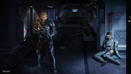 Mass Effect Commision by Moonarc