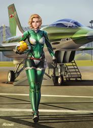 Lieutenant Claire Eddington, callsign Spade by Moonarc