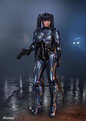 Robocop Girl by Moonarc