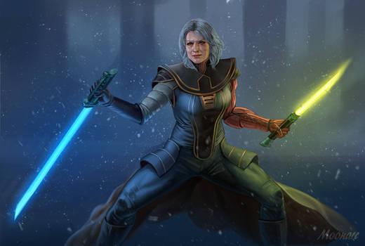 Old Jedi Zhavi