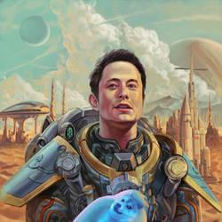 Elon Visionary Man