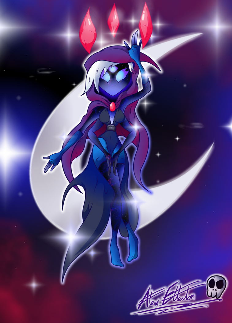 Siri: Goddess of Knowledge and Wisdom by TheUnusualGoth